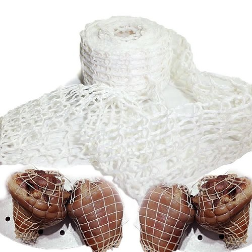 3 Meter Cotton Meat Net Ham Sausage Net Butcher's String Sausage Net Roll Hot Dog Net Sausage Packaging Tools Meat Cooking Tool