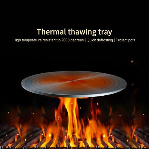 24/28cm Fast Defrosting Tray Thaw Frozen Food Meat Fruit Quick Defrosting Plate Board Kitchen Tool Can Be Heated With Fire