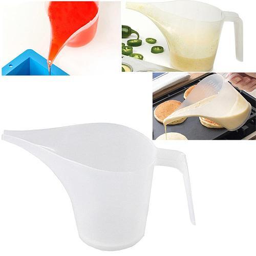 Tip Mouth Plastic Measuring Jug Cup Graduated Surface Cooking Kitchen Bakery Tool Supplies Liquid Measure Jug vaso medidor Q40