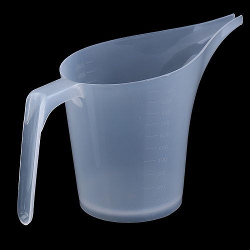 Tip Mouth Plastic Measuring Jug Cup Graduated Surface Cooking Kitchen Bakery Tool  Liquid Measure Jug Supplies
