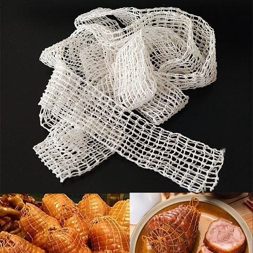 6 Meter Cotton Sausage Net for Meat Cooking Butcher's String Sausage Roll Net Hot Dog Net Sausage Packaging Tools  Wholesale