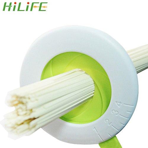 HILIFE Pasta Noodle Measuring Tool Plastic Controller Tool Adjustable Spaghetti Measure