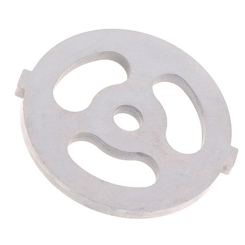 Large 3 Holes Meat Grinder Plate Net Knife Meat Grinder Parts Stainless Steel Meat Hole Plate