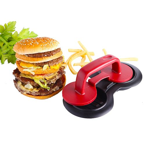Double Hole Meat Tools Non-Stick Chef Cutlets Hamburger Forms Hamburger Maker Burger Mould Press For Cutlets Burger Maker Mould