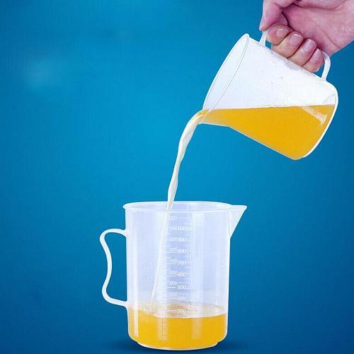 250/500/1000/2000Ml Spout Measuring Cup Cooking Liquid Lab Tool Handle Kitchen Pitcher Sale Jug pour Durable Kitchen Spout K4R8