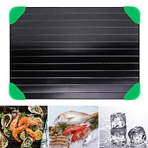Fast Defrosting Tray Thaw Frozen Food Meat Fruit Quick Defrosting Seafood Thawing Board Plate Kitchen Gadget Tool Defrost Tray