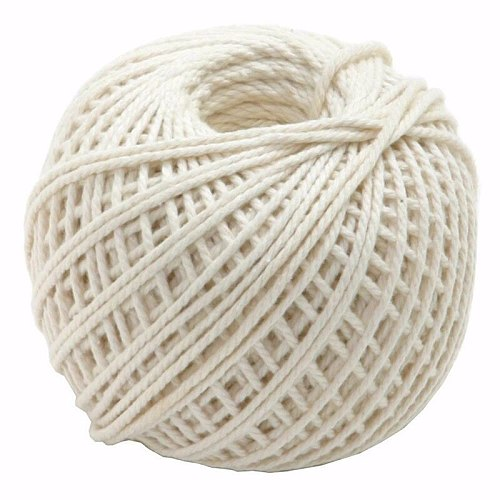 110-feet Cooking Tools Butcher's Cotton Twine Meat Prep Trussing Turkey Barbecue Strings Meat Sausage Tie Rope Cord Drop Ship