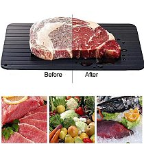 Meat Fast Defrosting Tray Thaw for Frozen Food Magic Quick safety Defrosting Plate Board Defrost Kitchen Cook Gadget Tool