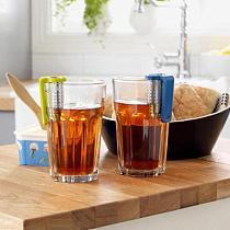 Stainless Steel Tea Infuser Loose Leaf Tea Diffuser Strainer Herbal Spice Filter Drinkware Tea Accessories With Handle Hanger