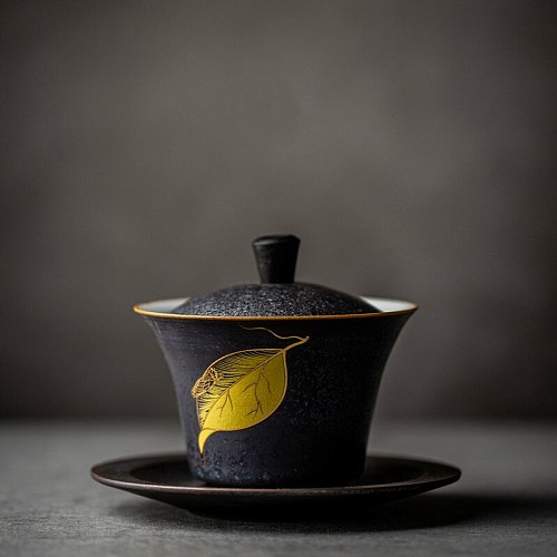 ceramic gaiwan tea cup handmade tureen chinese kung fu tea set drinkware MJ82211