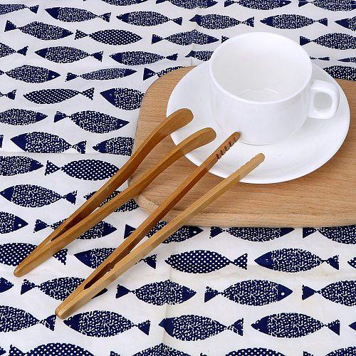 Natural Bamboo Teacup Clamp Handmade Anti-hot Tea Clip Tongs Holder Bamboo Clip Tea Tweezer Kung Fu Tea Sets