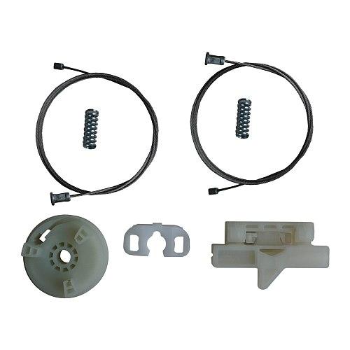 Free Shipping New Electrical Power Window Regulator Lifter Repair Set Front Left Door 51723318 For Fiat Grande Punto Evo 199