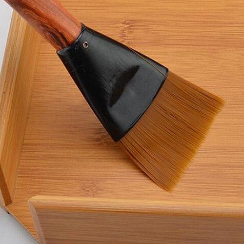 Tea Brush Kung Fu Tea Brush Creative Sweeping Tool Wood Tea Brushing Accessories Wooden Kungfu Teapot Brush