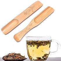 New Natural Bamboo Tea Spoon Honey Sauce Suger Wooden Spoons Coffee Tea Scoop Utensil Kitchen Accessorie Tableware