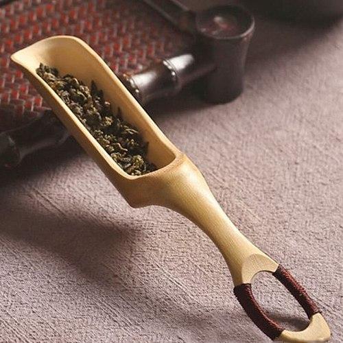 Chinese Tea Spoons Matcha Tea Coffee Measuring Scoop Bamboo Teaspoon Kitchen Tool Home Accessories