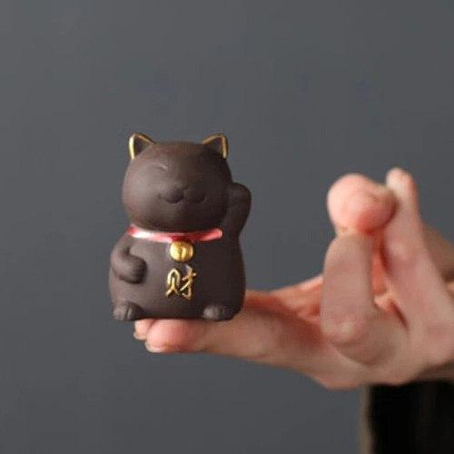 Purple Clay Small Tea Pet Ornament Table Tea Accessories Crafts Home Teaware Decoration Tea Accessories Tea Set