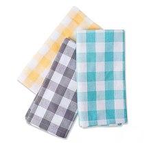 Multicolor fresh square plaid napkin cloth art cotton can be customized table cloth table insulation napkin