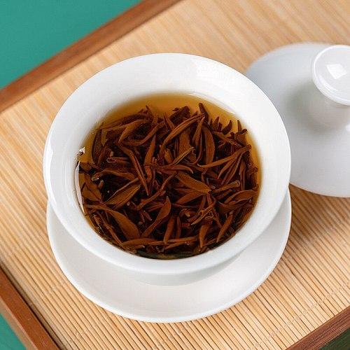 2021 Touchun Wuyi Mountain Tongmu Guan huaxiang Single Bud Jin Junmei Black Tea Meizhan High-scented Bubble Bag Wholesale
