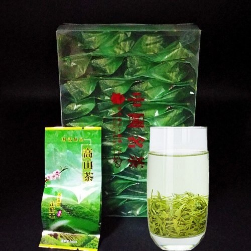 New Spring Arrival Fresh Chinese Green Tea Top Grade Weight Loss Tea 32 bags Lushan Yunwu Healthy Care Tea