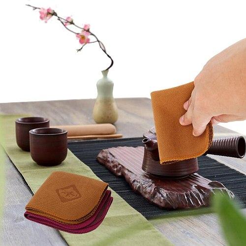 Table Napkins Tea Towel Teaware Kitchen Accessories Tablemat Linen