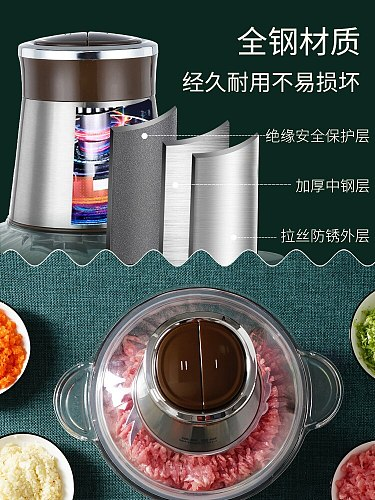 Stand Electric Meat Grinder Attachment Stuffer Professional  High Capacity Meat Grinder Home Ferramentas Food Processors DF50JR