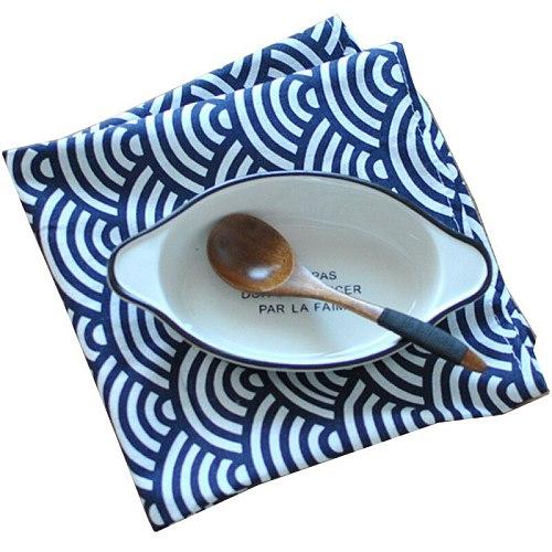 6pcs/lot Cloth Table Napkins Tablecloth Table Decoration Kitchen Decor Placemat