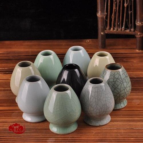 Free shipping hotsale good quality Japanese whisks holder, 2018 different shape matcha green tea chasen holder