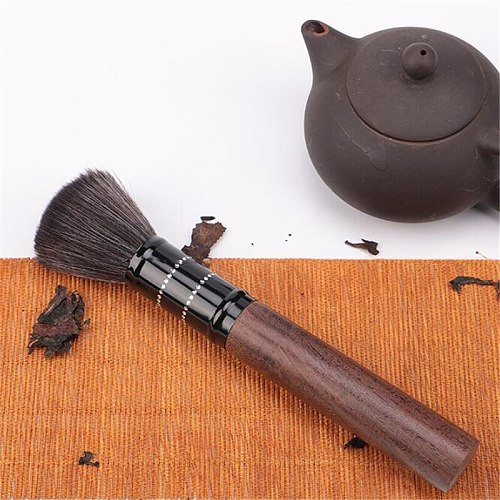 New Wooden Tea Tray Brush Cleaning Cup Tea Brush Tea Tray Table Cup Board Cleaner Kettle Cleaning Tool