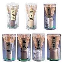 Traditional Powder Hand Made Essential for Frothing Matcha Whisker Ideal Gift for Green Tea Lovers Pack