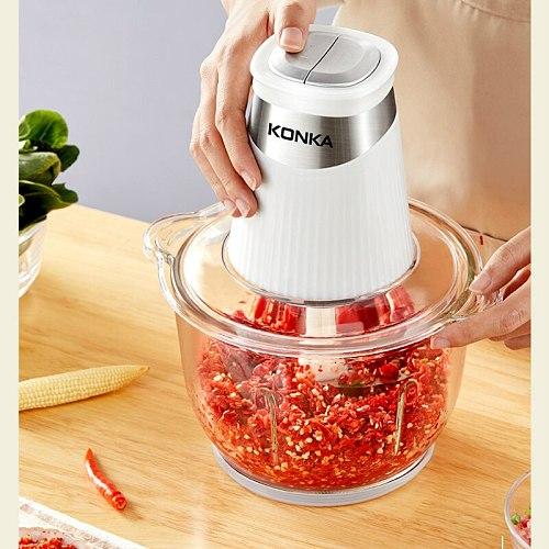 Multi Function Electrica Meat Grinder Cooking Machine Stuffer Meat Grinder Food Supplement Mixer Cuisine Kitchen Supplies DH50JR