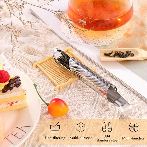 Stainless Steel Tea Infuser Tea Strainer Sugar Flour Sifters Filters Tea Interval Diffuser for Loose Leaf, Spices, Seasonings