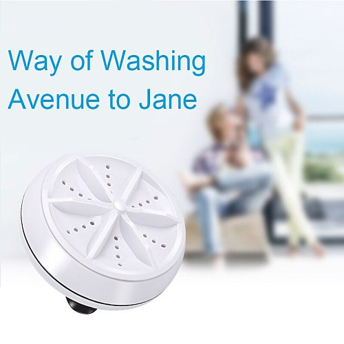 Portable Ultrasonic Washing Machines for Bowls Clothes Glasses Fruits Vegetables Tea Sets XH8Z