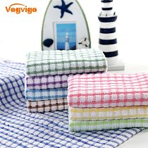 40X 27CM Cotton Table Napkins Cotton Kitchen Waffle Tea Towel Absorbent Dish Cleaning Towels Cocktail Napkin For Weddings