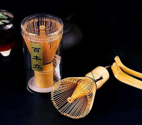 Fashion Hot Natural Bamboo Chasen Matcha Whisk Preparing for Green Tea Powder Chasen Brush Tool for Matcha New Wholesale
