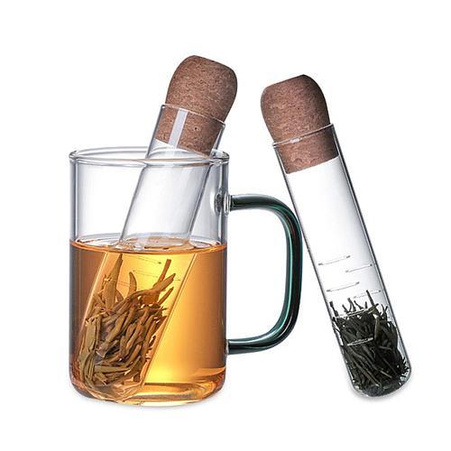 Tea Infuser Reusable Pipe Design Tea Strainer Mug Fancy Filter Puer Tea Herb Tea Tools Accessories
