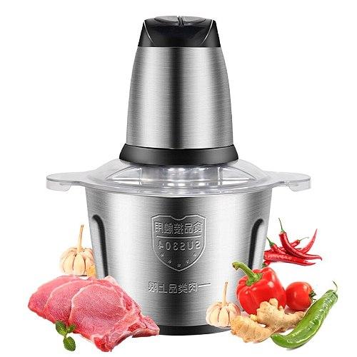 Sausage Stuffer Mini Meat Grinder Electric Meat Mincer Food Grinder Multi-function Cooking Machine Cocina Kitchen Supplies DH50J