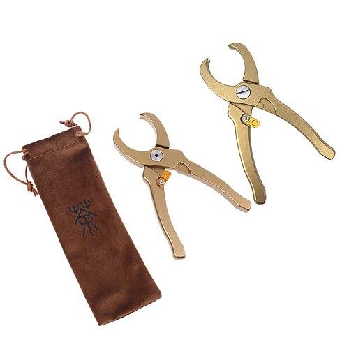 Aluminum Alloy Tea Pliers Tongs Clip Multifunction Brick Accessories Clamp Knife