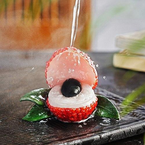 Litchi tea pet sound creative watering discoloration tea play tea ceremony tea accessories personality giftsdecorations boutique