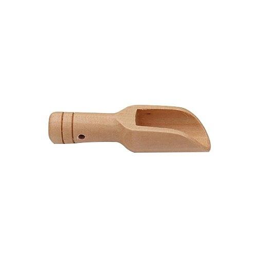 Natural Wooden Coffee Tea Sugar Salt Powder Spoon Scoop Kitchen Utensil Tool