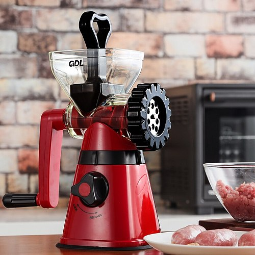 Sausage Stuffer Home Manual Meat Grinder Multi-function Mixer Manual Food Chopper Food Grinder Cuisine Household Products DH50JR