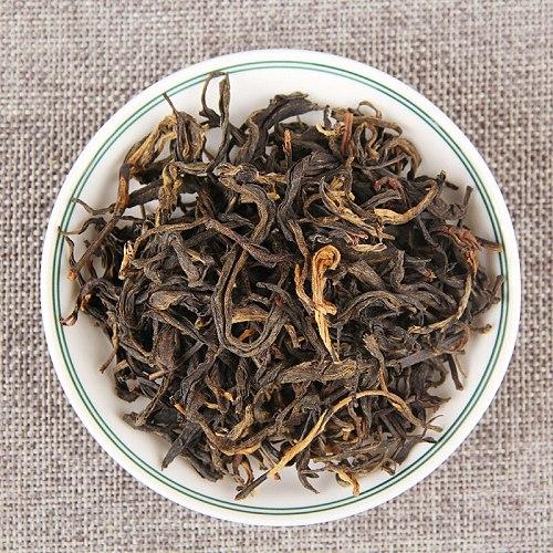 100g/bag China Yunnan Dianhong Black Tea Luzhou-flavored Bulk Fengqing Ancient Kungfu Dianhong Maofeng Gift Bag