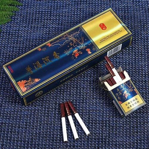 Herbal Tea Smoke Puer Tea Fine Cigarette to Quit smoking 100% Tobacco Free -100% Nicotine Free, Non Tobacco Products