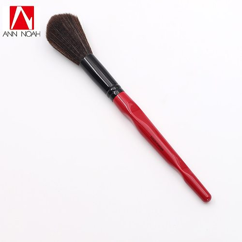 Limited Edition Red Handle Flexible Fluffy Soft Synthetic Bristle Sweep Setting Sheer Powder Makeup Brush