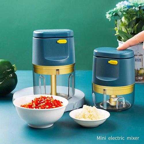 Multifunction Vegetable Meat Grinder Electric Stuffer Maker Pepper Meat Grinder Cooking Home Ferramentas  Food Processors DF50JR