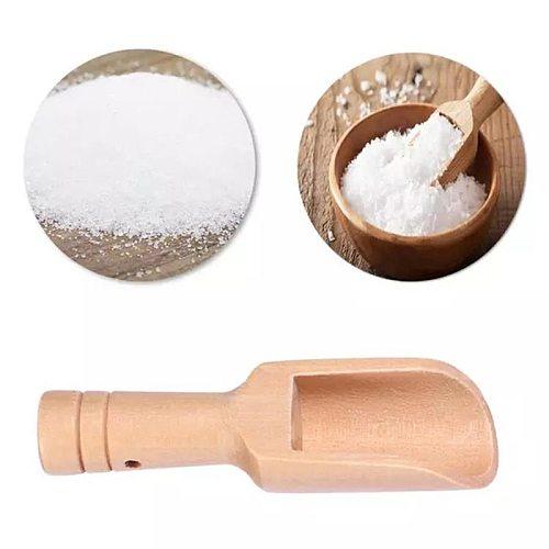 1PC Wood Salt Spoon Condiment Scoop Flatware Mini Coffee Tea Scoop Sugar Spoon Salt Wood Spoons Cooking Tools Kitchen Gadgets