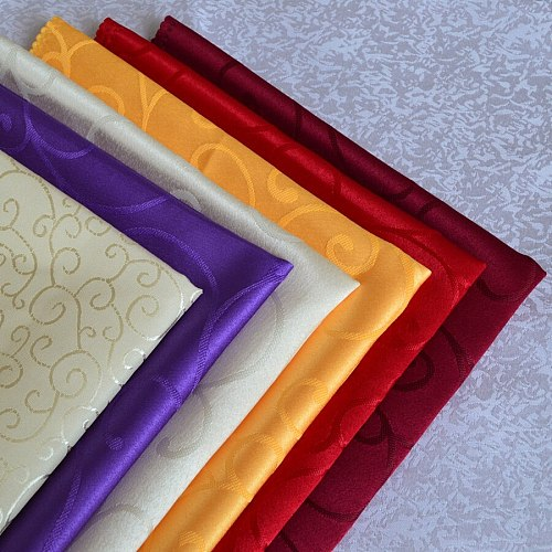 Party Supplies Colorful Polyester Fabric Cloth Napkin Wedding & Party Napkins Multi-use Cloth 48*48cm Table Napkin Cloth 10 pcs