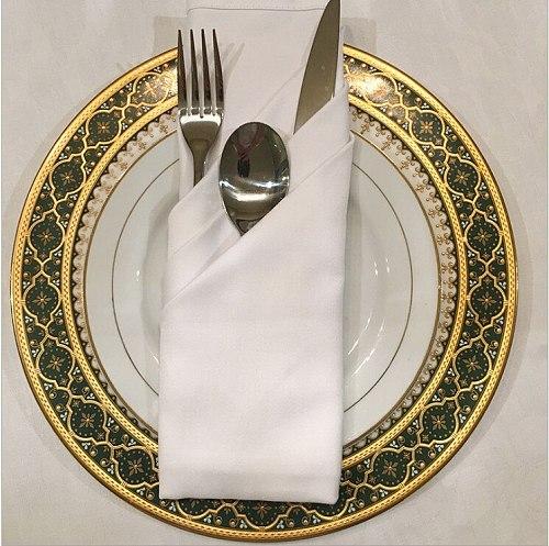 MARIOUS 100pcs 50cm*50cm White Wedding Napkins cotton  Table Napkins Restaurant  table linen  GOOD QUALTIY   Free Shipping