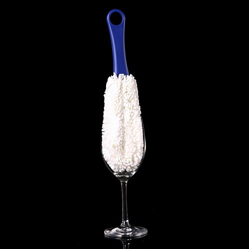 Long Neck Bendable Foam Tipped Goblet Glass Decanter Stemware Cup Washing Brush Wine Glass Bar Kitchen Cleaner Tools Tea Brushes