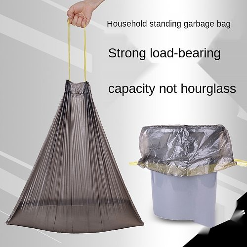 Disposable Garbage Bag Household Household Thickened Portable Plastic Kitchen Hotel Guest Room Garbage Bag