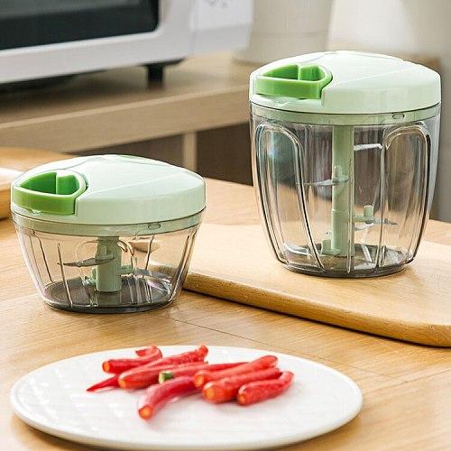 Mini Hand Meat Grinder Blade Fruit Pepper Vegetable Stuffer Maker Ferramentas Multi Function Ferramentas  Food Processors DF50JR